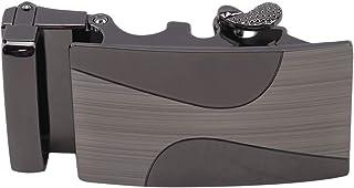 Yinew Cintura Automatica Regolabile Fibbia Quadrato Cintura Sostituire Fibbia Moda Uomo Accessori Cintura