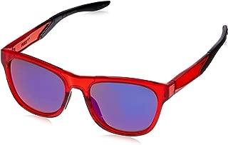Puma Men's PU0170S PU0170S-003 54 Wayfarer Sunglasses, Red, 54 mm