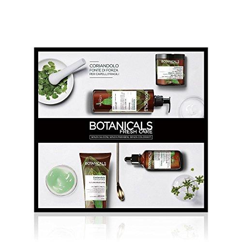 L'Oréal Paris Cofanetto Regalo Natale, Trattamento Completo per Capelli Fragili Botanicals Coriandolo Fonte di Forza, Include 4 Prodotti