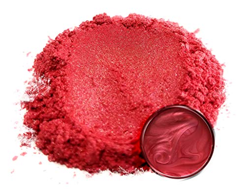 """Eye Candy Mica Powder Pigment """"Red Rose"""" (50g) Multipurpose DIY Arts and Crafts Additive 