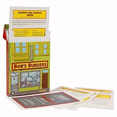 The Bob's Burgers Burger Box Recipe Card Set Loot Crate July 2017 Exclusive