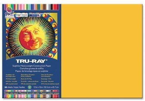 Tru-Ray Construction Paper 76lb. 12