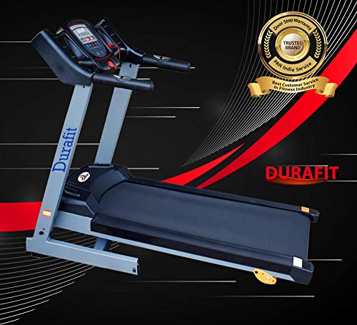 Durafit Sturdy 1.25 HP (Peak 2.5 HP) Motorized Foldable Treadmill