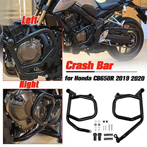 Lorababer Motorrad Motorschutz Sturzbügel Schutzbügel Crash Bar für Honda CB650R CB 650R CB 650 R 2019 2020 Motor Highway Stoßstangenschutz