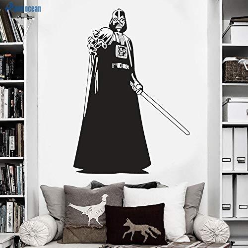 Tianpengyuanshuai Wanddekoration Wohnzimmer Kinder Wandaufkleber Schlafzimmer Vinyl abnehmbar 96x136cm