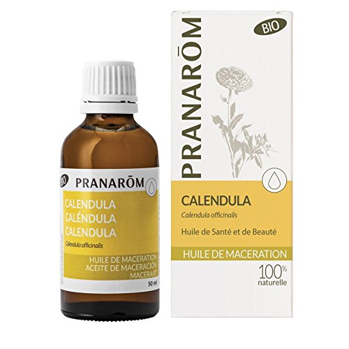 Pranarom - Aceite Vegetal de Bio -, Calendula, Caléndula Orgánica, Caléndula, 50 Mililitros