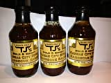 Trader Joe's Bold and Smoky Kansas City Barbecue Sauce (Pack of 3)