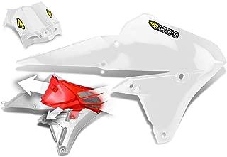Cycra 14-18 Yamaha YZ250F Powerflow Radiator Shrouds (White)