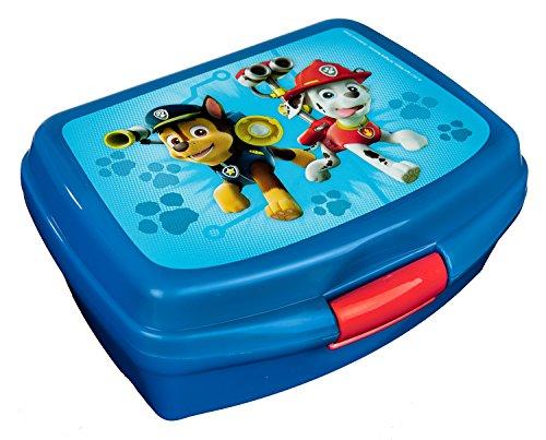 Scooli PPUT9901 - Brotzeitdose aus Kunststoff mit Clip, leicht zu öffnen und zu schließen, BPA und Phthalat...