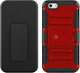 CABLE AND CASE iPhone 6s Case, [Blade Series] - Heavy Duty Protection from Drops and Falls - Also Compatible with Apple iPhone 6 [Red]