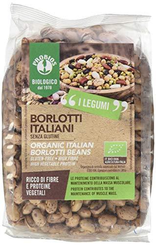 Probios Fagioli Borlotti - Confezione da 6 x 400 g