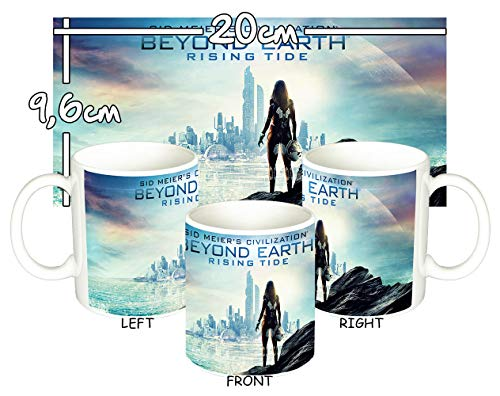 MasTazas Civilization Beyond Earth Rising Tide Tasse Mug