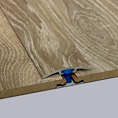 Laminat-Übergangsschiene Nostalgie Eiche Natur Wood Textur 900 m, für 0-4 mm Höhenunterschied