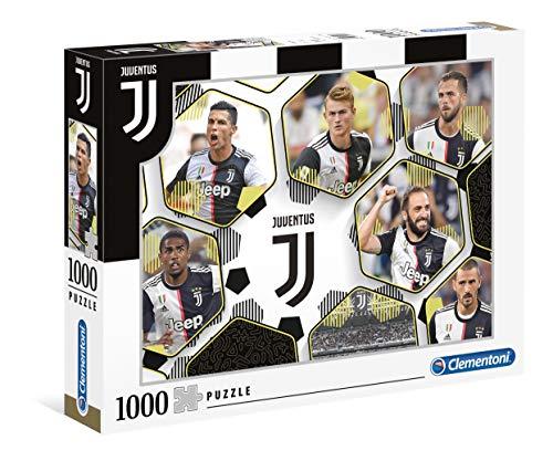 Clementoni- Juventus FC Puzzle, 1000 Pezzi, Multicolore, Adulti, 39530