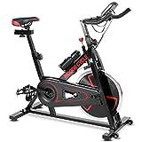 Nova Bici da Spinning Bicicletta Cyclette Fitness Bike da Casa Volano 10kg Regolabile