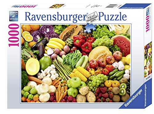 Ravensburger Puzzle 1000 Teile - Obst und Gemüse - Puzzle für Erwachsene und Kinder ab 14 Jahren