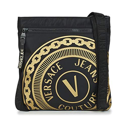 Versace Jeans Couture Soleda Kleine Taschen Herren Schwarz/Gold - Einheitsgrösse - Geldtasche/Handtasche Bag