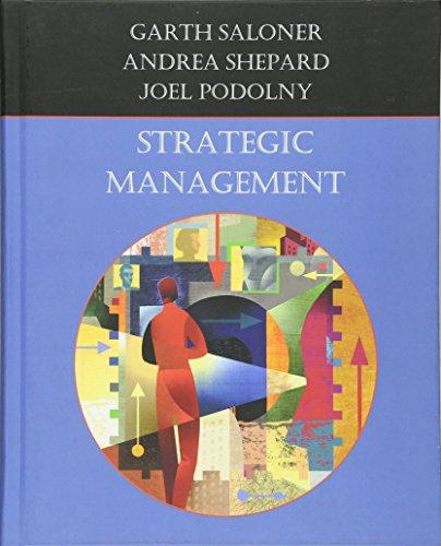 Saloner, G: Strategic Management