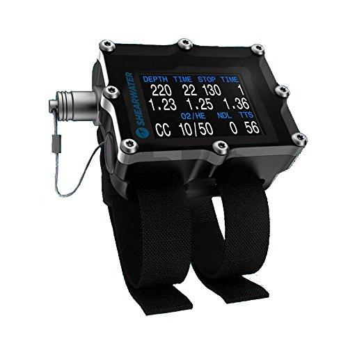 Shearwater Petrel 2 EXT OC/CC w/ Fischer Port Dive Computer