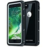 ImpactStrong iPhone 6 Waterproof Case [Fingerprint ID Compatible] Slim Full Body Protection Cover for Apple iPhone 6 / 6s (4.7') - FS Jet Black