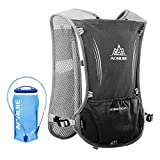 Lixada Hydration Pack Hydration Vest Lightweight Breathable Water Bottle Backpack for Outdoors Running Cycling Climbing with 1.5L Hydration Bladder