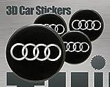 Think Ink 3D Aufkleber 4 STK. Logo Imitation Alle Größen Mittelkappen Radkappen (56 mm)