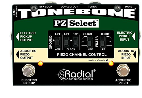 Affordable Radial Engineering Tonebone PZ Select Piezo and Magnetic Pickup Selector/ DI Box