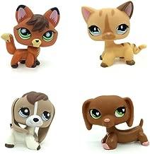 Pet Shop Jouets LPS rares sur Pied Forme Masque de Chat de Cheveux Court 1439 pour Enfants Cadeau 2PC Choix Votre Chat