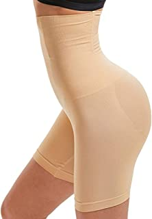 YZLOXL Womens Shapewear Panties Bodysuit Body Shaper High Waist Tummy Control Seamless Strapless Slimming Panty Briefs