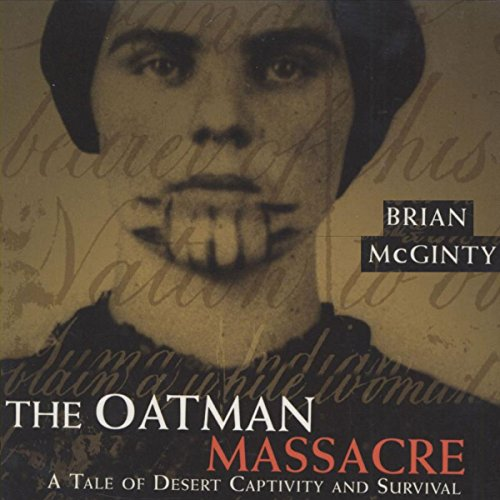 The Oatman Massacre audiobook cover art