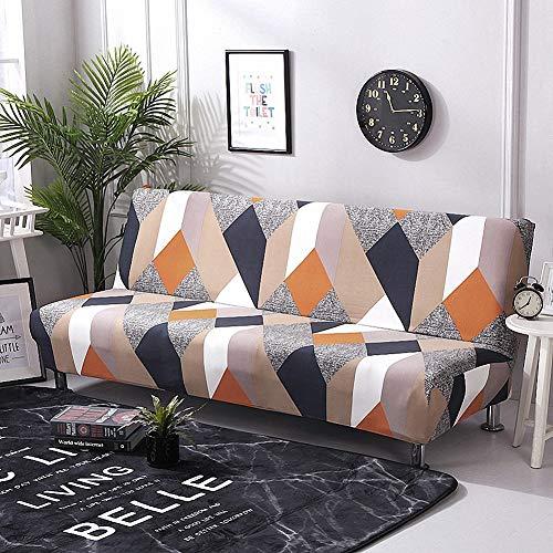 Carvapet Armlos Elastischer Sofabezug Sofaüberwurf Antirutsch Elastische Sofahusse Sofa Abdeckung Hussen überwurf für Sofa (Mehrfarbig)