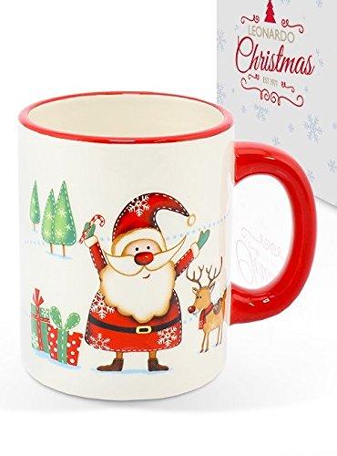 Tazas Para Navidad Papa Noel Marca Leonardo