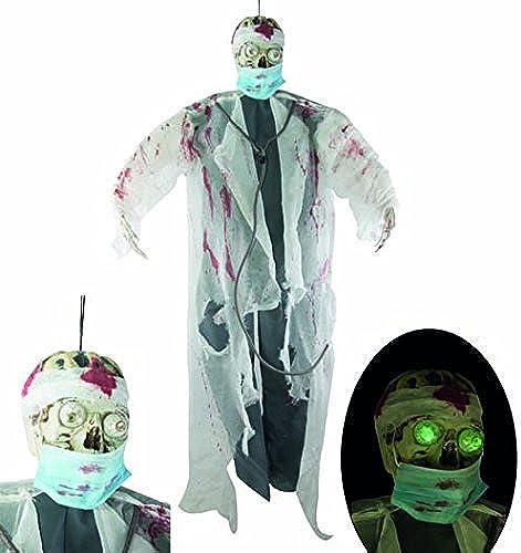 Ptit Clown P 'tit payaso re16058 Esqueleto cirujano luminoso colgante de