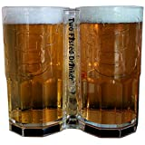 Two Fisted Drinker Beer Mug - Clear