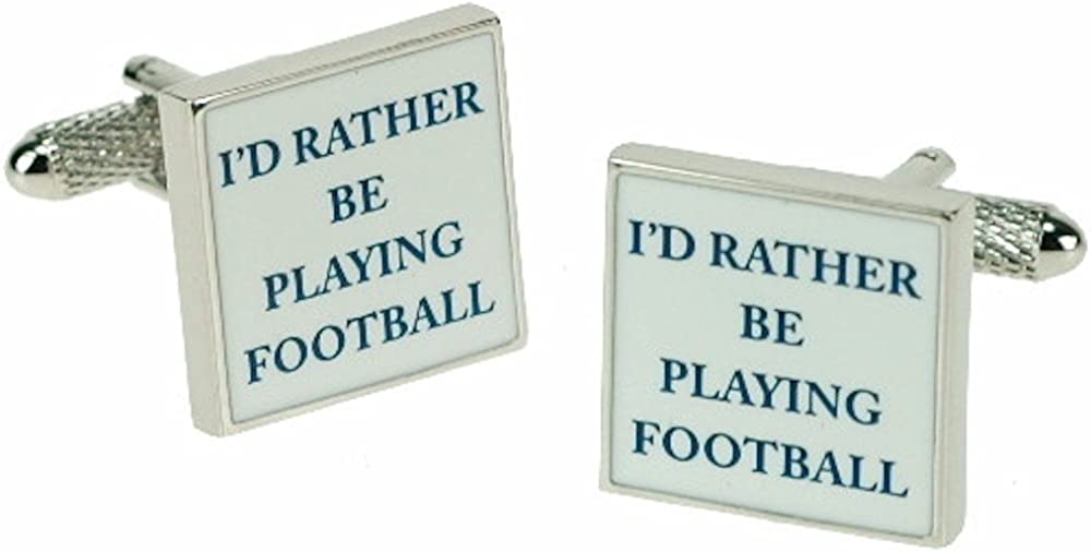 Cufflinks - I'd rather be playing football