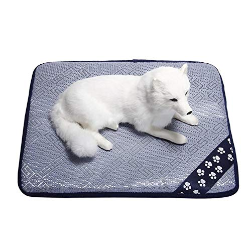TXDIRECT Alfombrilla Refrigeracion Animales Colchon Refrigerante para Perros De Perro Almohadillas de Entrenamiento Perro de refrigeración Perro Gato Mat m