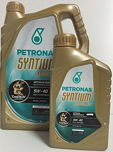Petronas Syntium 3000 AV 5W40 6 litros (1x5 LTS + 1x1 lt)