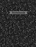 Notebook Carbon Fiber Large 8.5x11 Lined 110 page