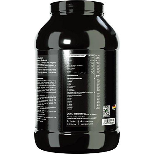 Zec+ Nutrition WHEY ISOLAT (Erdbeere, 1000g) - 2