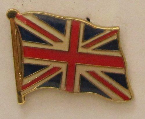 Buddel-Bini Versand Pin Anstecker Flagge Fahne Großbritannien Union Jack Nationalflagge Flaggenpin Badge Button Flaggen Clip Anstecknadel