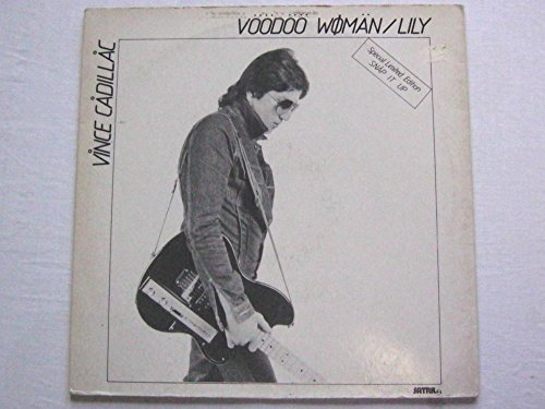 Vince Cadillac Voodoo Woman 12' Satrill SAT135 EX/VG 1978 12 inch