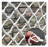 Red De Seguridad Para Gatos Para Balcón Y Ventana, Red Protectora Anticaídas Para Mascotas, Valla Para Escaleras, Malla Blanca Para Perros Y Gatos, Red Anti-escape, Red Para Esca(Size:2*6m(7*20ft))