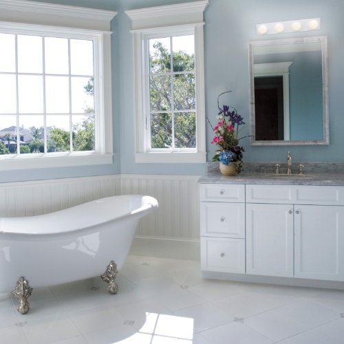 Westinghouse Lighting Lighting 6659500 4-Light Interior Bath Bar, White Finish