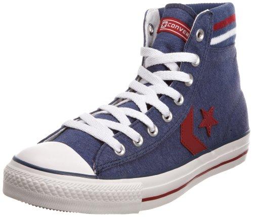 Converse 117579 - Zapatillas de Deporte de Lona Unisex, Color Azul, Talla 41