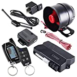DS18 18START 2-Way Car Alarm Security Keyless Entry System & LCD Sensor Remote