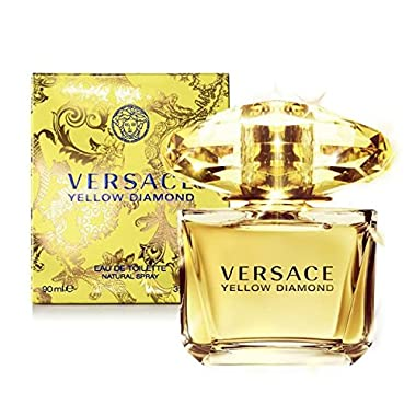 Yellow Diamond by Versace for Women Eau de Toilette Spray, 3 Ounce, Floral fruity