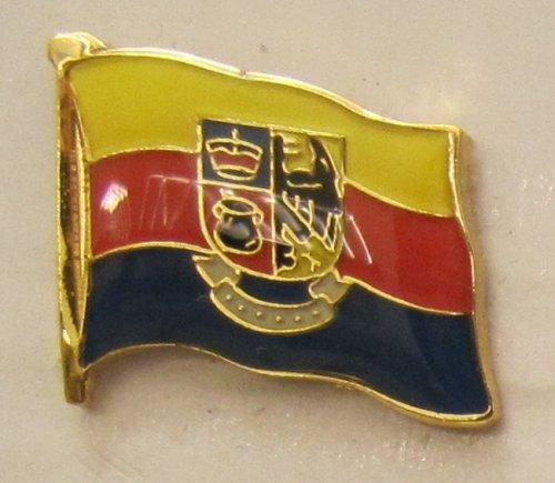Pin Anstecker Flagge Fahne Nordfriesland Nord Friesland Flaggenpin Badge Button Flaggen Clip Anstecknadel