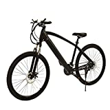 HLEZ 27.5'' Electric Mountain Bike, Electric Bike Adult 250W 36V 9.6Ah Lithium Battery 7 Speeds Beach Cruiser...