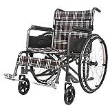 LAZ Silla de ruedas con longitud de los brazos y de las piernas se reclina for extra confort, Silla de ruedas plegable de transporte ligero portátil con Volver bolsa de almacenamiento
