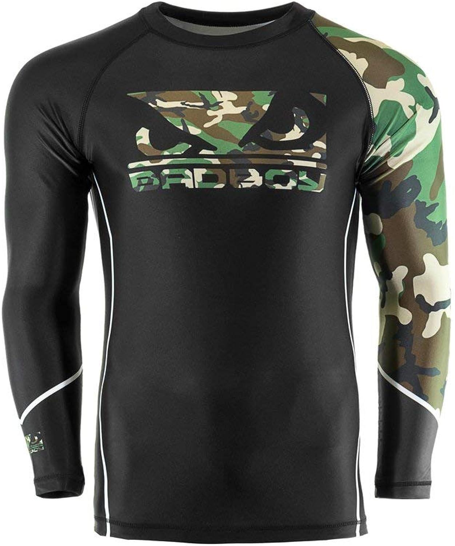 Bad Boy MMA Soldat Wald Camouflage Rash Guard